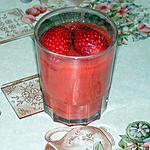 recette Compote fraise rhubarbe