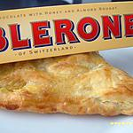 recette triangles au toblerone