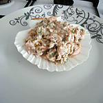 tartare de saumon frais