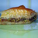 recette Baklava/Baklawa Aux Pistaches