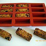 recette barres de céréales