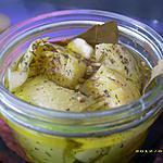 recette conserve d'artichauts au graines de fenouil