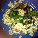 recette Salade au poulet mariné (sucré et salé)