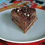 Gâteau Mille Crêpes Framboise CHocolat ( Anniversaire)