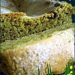 recette cake aut thé vert et fruits rouges
