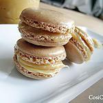 recette Macarons à la confiture de lait (ou Dulce de Leche)