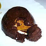 recette Coulant chocolat et beurre de cacahuètes