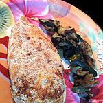 recette Poulet pané à poudre d'amande