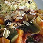 recette Mon 1er tagine de légumes et semoule à la menthe