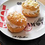 recette Mini tarte tropezienne brioché à la créme chantilly