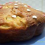 recette gâteau moelleux aux noix et poires caramélisées