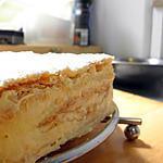 millfeuille à la crème pâtissière