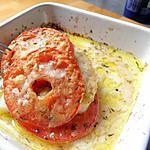 recette merlu braisé à la tomate et parmesan