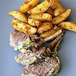 recette Carré d'agneau en croûte de Pecorino