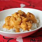 recette Crevettes au curry au Thermomix