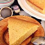 recette Torta caprese al cioccolato bianco e limoncello (Gâteau de Capri au chocolat blanc & au Limoncello)