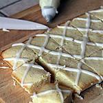 recette Brownies au chocolat blanc & citron