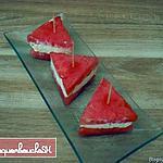recette Sandwichs de pastèque