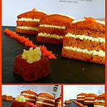 recette Carrot Cake... made in USA !