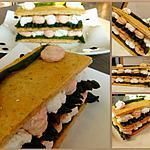 recette Mille-feuilles d'asperges vertes et ses mousses gourmandes