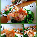 recette Cocktail de crevettes aux pommes