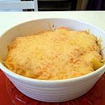 recette Gratin de colin crevette