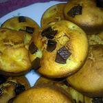 recette muffins à la pomme et aux pépites de chocolat