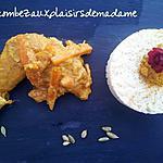 recette poulet aux saveurs des îles et d'ailleur