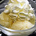 glace vanille sans sucre