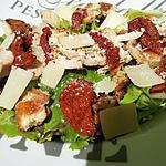 recette Salade césar au poulet