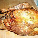 recette Poulet farci aux aiguillettes de canard