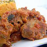 recette curry d'agneau aux aubergines