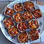 recette Tartelettes aux abricots à ma façon (photo perso)