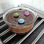 recette Merci pour le chocolat (film) panna cotta choco-coco