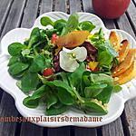 recette Salade gourmande sucré-salé