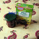 recette Confiture fraises des bois et groseilles