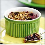 recette Blueberry Crumble