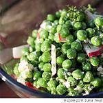 recette Pea, Radish, & Goat Cheese Salade