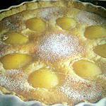 recette Amandine aux poires (ou peches)