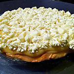 Tarte au citron et sa meringue au mascarpone