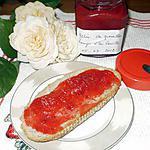 recette gelée de groseilles rouges à la vanille