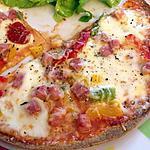 recette Tortilla comme une Pizza