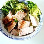 recette Salade de poulet à la thaï (Cyril Lignac)