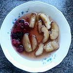 recette Soupe de pêches et fruits rouges