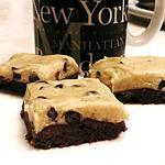 cookies : recette Brookie dough (ou brownie à la pâte à cookie)