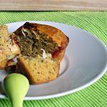 recette Muffins Pesto, tomates et Saint-Marcellin