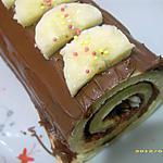 recette merveilleux roulé nutella banane
