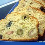 recette cake au thon et aux deux olives