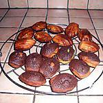 recette Madeleines marbrées choco-vanille