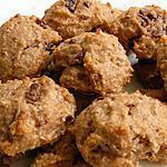 recette biscuits légers rhum raisin choco coco (Ritter Sport la suite)